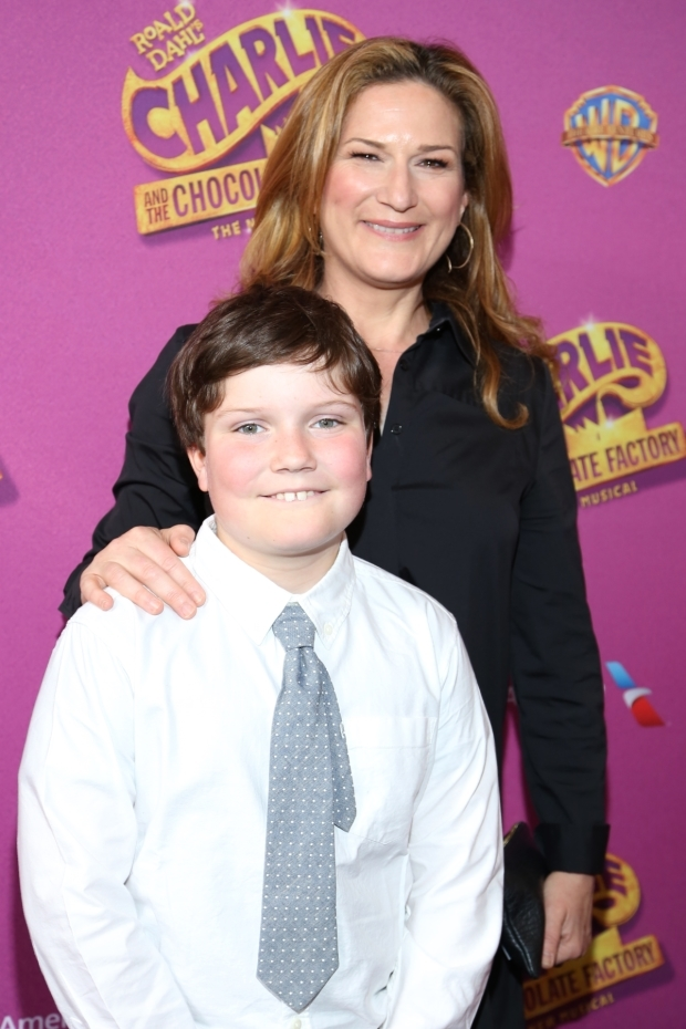 <p>Ana Gasteyer shares the performance with her son.</p><br />(© Tricia Baron)