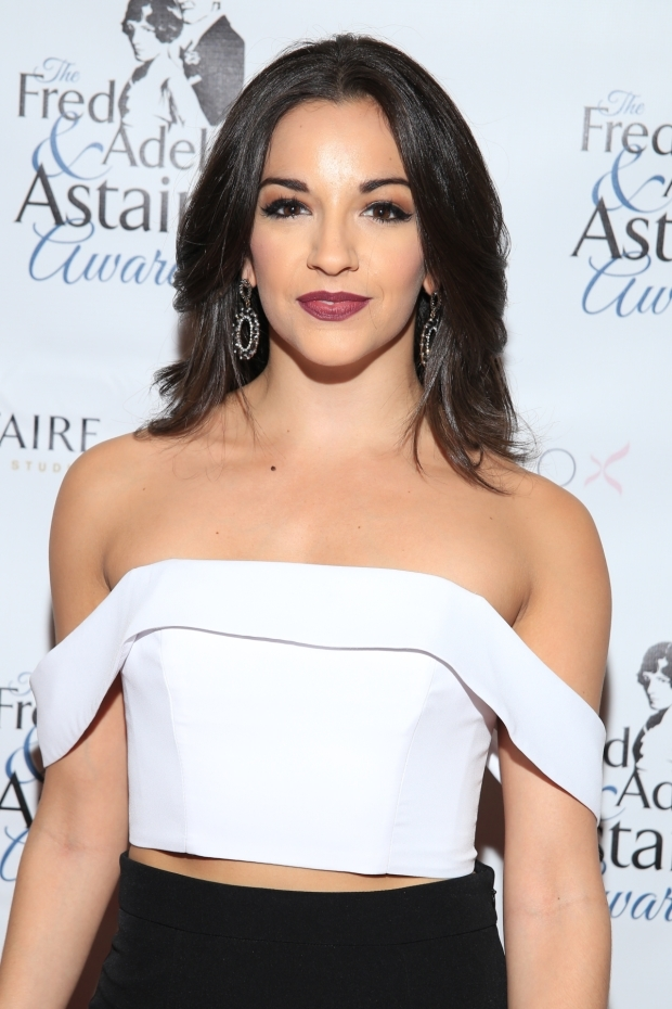 <p>Ana Villafañe is a Best Female Dancer nominee for <em>On Your Feet!</em></p><br />(© Tricia Baron)