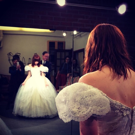 <p>&quot&#x3B;And this is the moment I tried on the glass slipper for the first time.&quot&#x3B; — @CarlyRaeJepsen</p>