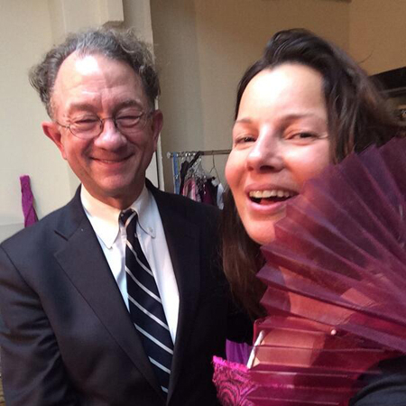 <p>&quot&#x3B;At the fitting w the tony winning William Ivey Long!&quot&#x3B; — @FranDrescher</p>