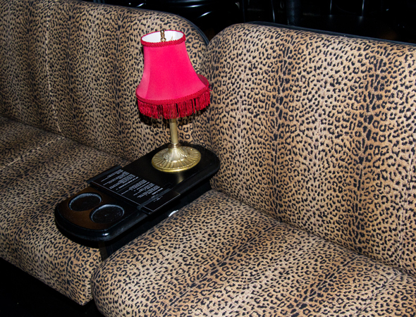 <p>&quot&#x3B;In 1998, we used all velvet upholstery,&quot&#x3B; Brill says of the carpeting and banquette seats. &quot&#x3B;It was very easy to get then, but more difficult to get now. I think everything should feel like there&#39&#x3B;s a faded decadence to it,&quot&#x3B; hence the use of leopard prints instead of velvet.</p><br />(© David Gordon)