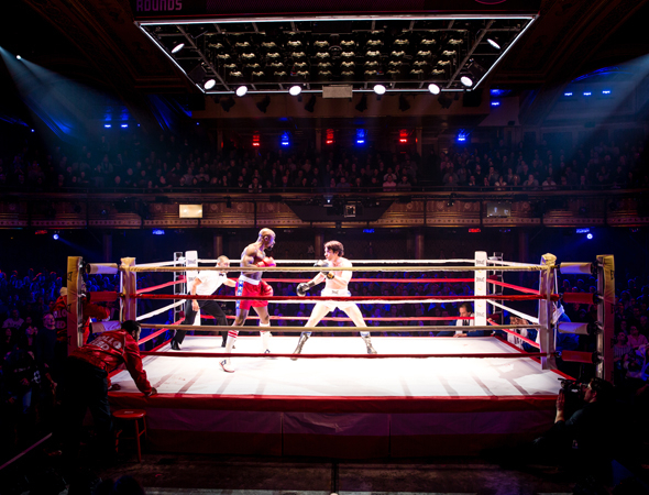 <p>&quot&#x3B;It&#39&#x3B;s massive,&quot&#x3B; Barreca says of the boxing ring. &quot&#x3B;It&#39&#x3B;s like moving a car.&quot&#x3B;</p><br />(© Matthew Murphy)