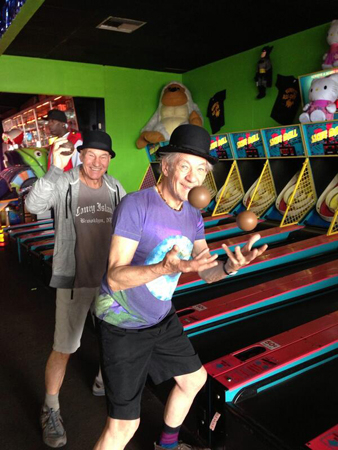 <p>&quot&#x3B;Skeeball! (Our trip to Coney last fall made for so many great pics, more to come) 15 shows left!&quot&#x3B;</p><br />(Photo via @SirPatStew)