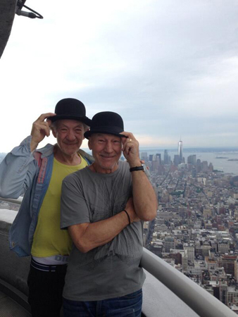 <p>&quot&#x3B;Skyscraper!&quot&#x3B;</p><br />(Photo via @SirPatStew)
