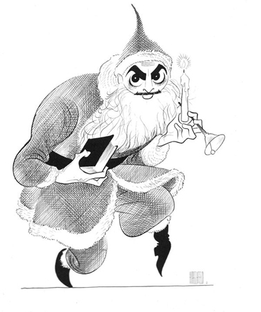 <p>&quot&#x3B;Unlikely Casting #10: David Merrick As Santa Claus&quot&#x3B;<br/>