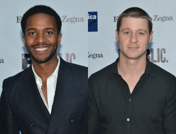 <p>Andre Holland attended the performance with his pal, fellow actor Benjamin McKenzie.</p><br />(© David Gordon)