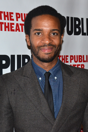 <p>Andre Holland walks the red carpet.</p><br />(© David Gordon)
