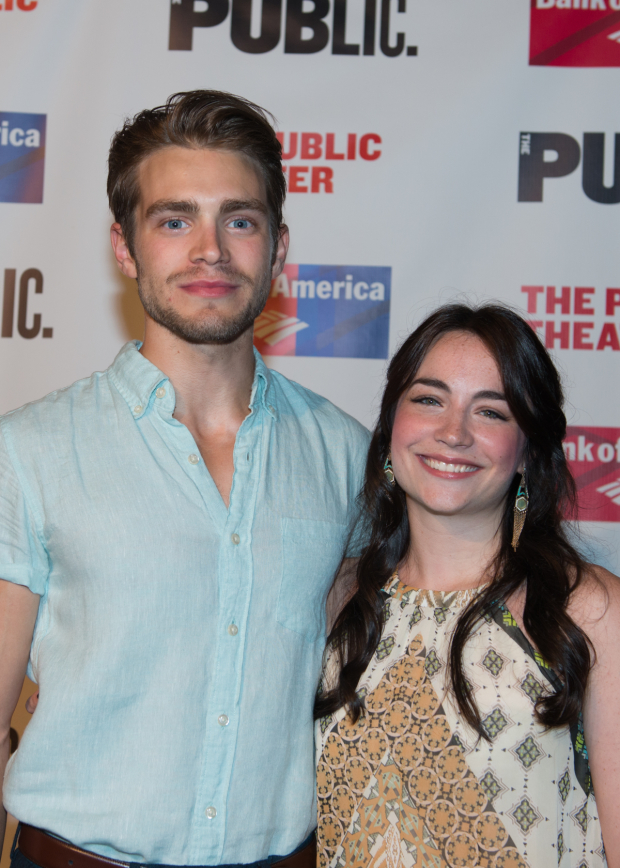 <p>Andrew Burnap and Ismenia Mendes star in the play&#39&#x3B;s title roles.</p><br />(© Allison Stock)