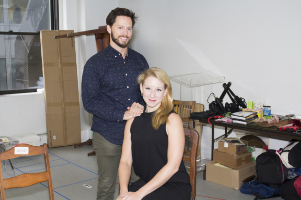 <p>Andrew Call and Molly Pope return to <em>Found</em> after having starred in the show&#39&#x3B;s Atlantic Theater Company run.</p><br />(© Seth Walters)