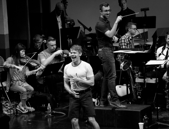 <p>Andrew Keenan-Bolger delivers a spirited &quot&#x3B;Gary, Indiana.&quot&#x3B;</p><br />(© David Gordon)