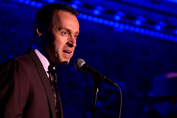 <p>Andrew Lippa himself, performing in <em>&quot&#x3B;The Wild Party&quot&#x3B; Swings</em>.</p><br />(© Matthew Murphy)