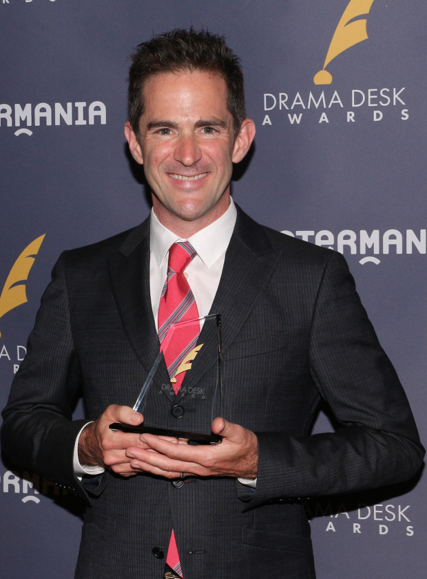 <p>Andy Blankenbuehler, Outstanding Choreography of a Musical recipient for <em>Bandstand</em>.</p><br />(© David Gordon)