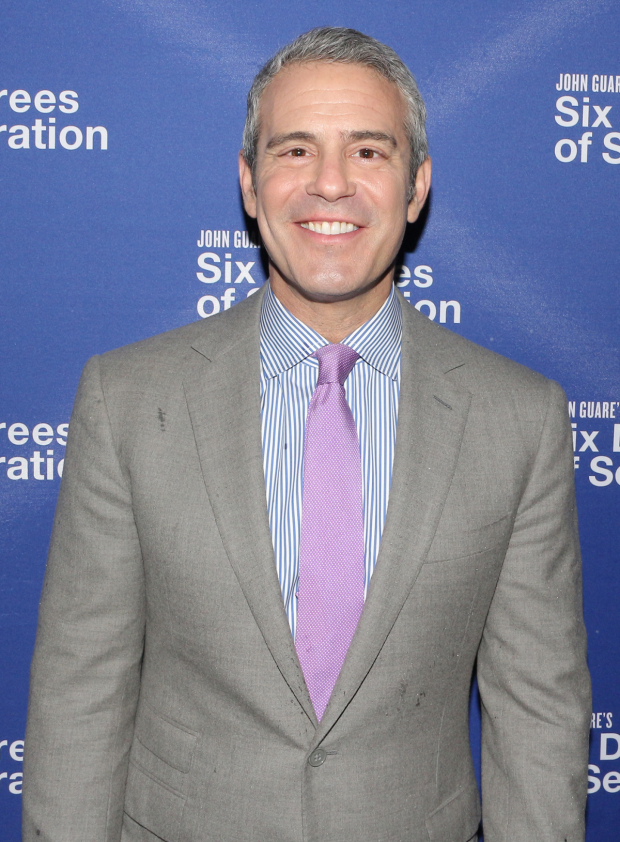 <p>Andy Cohen made an appearance.</p><br />(© David Gordon)