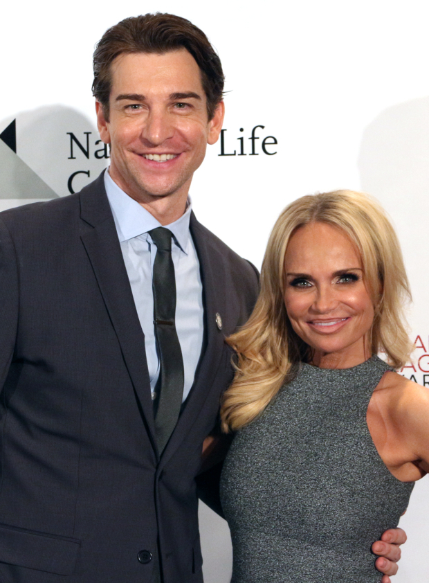 <p>Andy Karl and Kristin Chenoweth — <em>On the Twentieth Century</em></p><br />(© David Gordon)