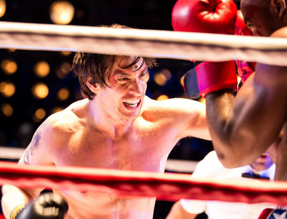 <p>Andy Karl leads the company as Rocky Balboa.</p><br />(© Matthew Murphy)