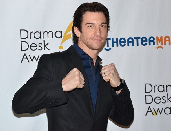 <p>Andy Karl — Outstanding Actor in a Musical nominee for <em>Rocky</em>.</p><br />(© David Gordon)