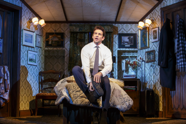 <p>Andy Karl reprises the role of Phil, which he played in the London production.</p><br />(© Joan Marcus)