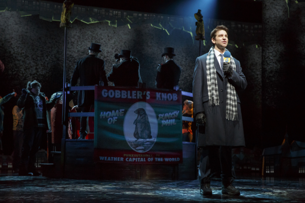 <p>Andy Karl stars as Phil Connors.</p><br />(© Joan Marcus)