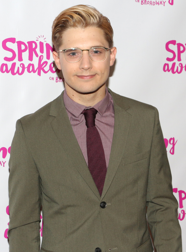 <p>Andy Mientus returns to Broadway in the role of Hanschen.</p><br />(© David Gordon)