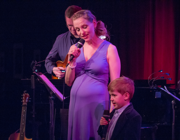 <p>Anika sings &quot&#x3B;Four Leaf Clover&quot&#x3B; with her 5-year-old nephew.</p><br />(© Seth Walters)