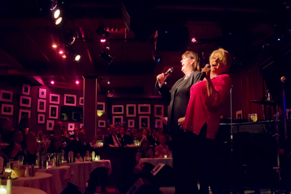<p>Ann Hampton Callaway and Lorna Luft sing to a packed house.</p><br />(© Seth Walters)