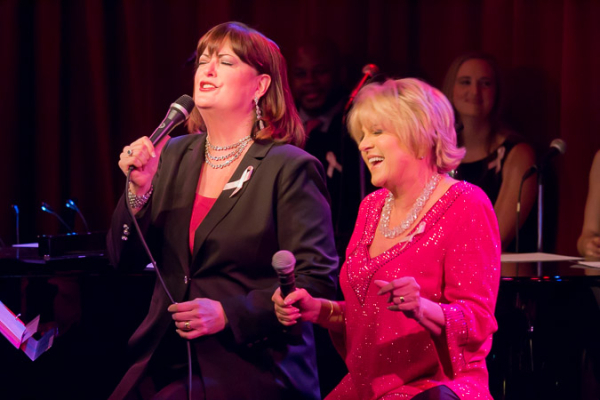 <p>Ann Hampton Callaway sang a lovely duet with Lorna Luft.</p><br />(© Seth Walters)