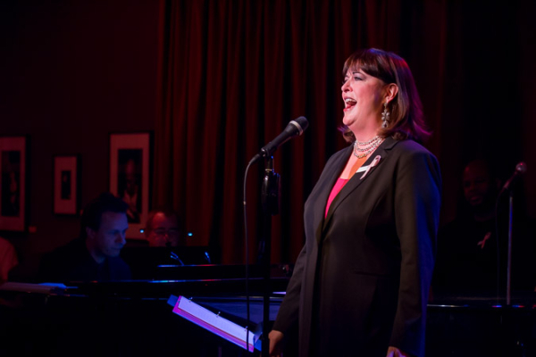 <p>Ann Hampton Callaway sings a beautiful medley of &quot&#x3B;People&quot&#x3B; and &quot&#x3B;Being Alive.&quot&#x3B;</p><br />(©Seth Walters)