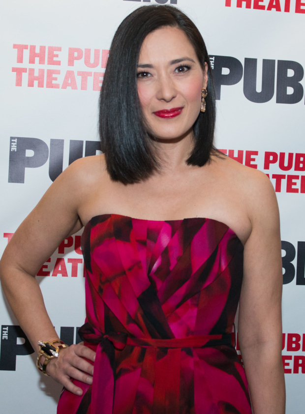 <p>Ann Sanders takes on the role of Mme. Aung.</p><br />(© Allison Stock)