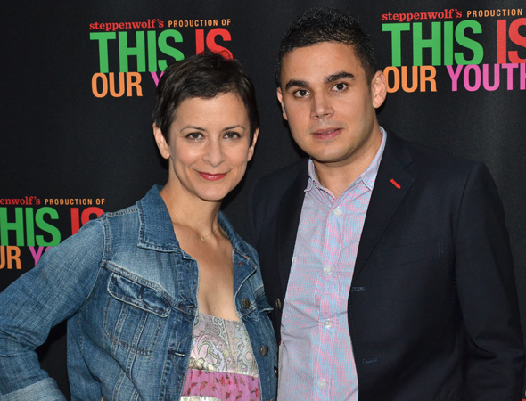<p>Anna D. Shapiro (left) directed <em>This Is Our Youth</em>, which features music by Rostam Batmanglij (right), of the band Vampire Weekend.</p><br />(© David Gordon)