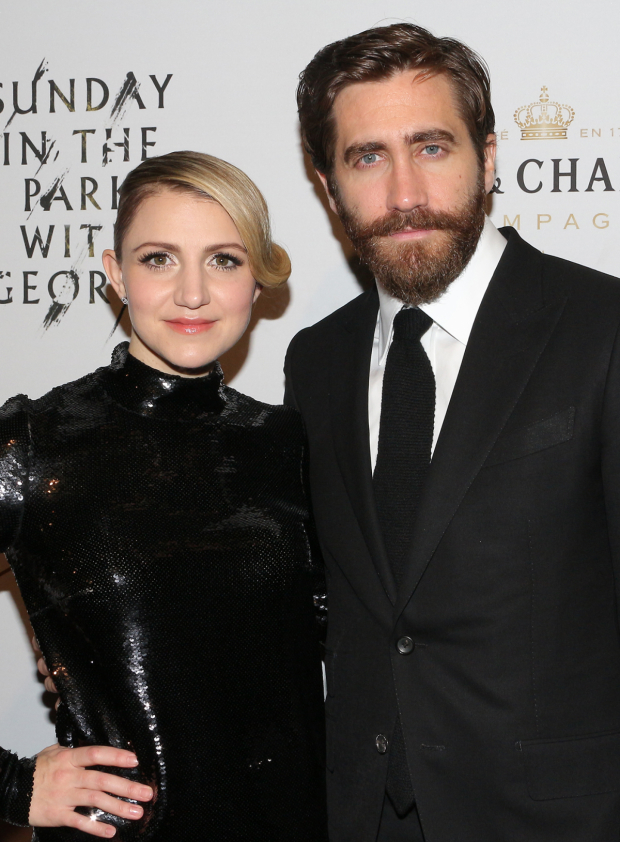 <p>Annaleigh Ashford and Jake Gyllenhaal star in <em>Sunday in the Park With George</em>.</p><br />(© David Gordon)