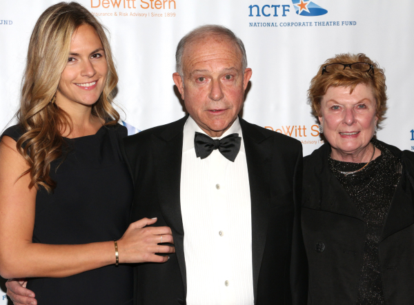 <p>Another honoree for the evening was Jolyon Stern, CEO of DeWitt Stern Insurance &amp&#x3B; Risk Advisory, who is seen here with his wife, theater producer Nelle Nugent (right), and their daughter, Alexandra.</p><br />(© David Gordon)