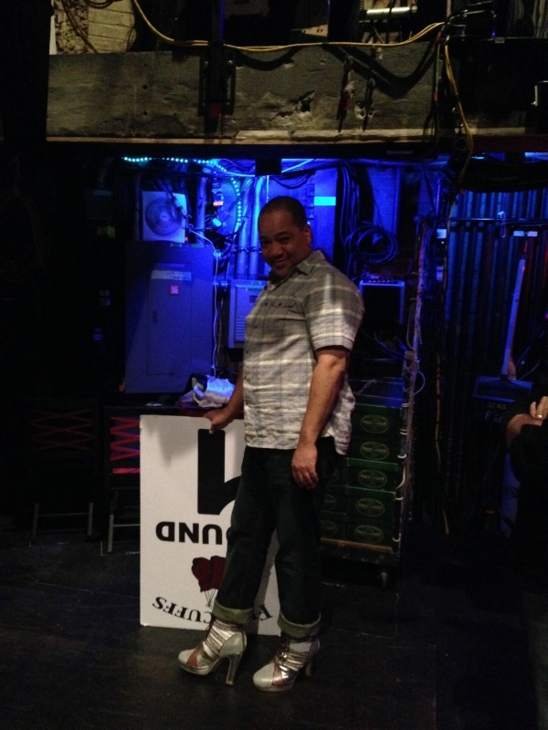 <p>Another stage manager, Ken. The thing is, we ALLL like to live in the world of the show. At all times. So, he's wicked method. </p>