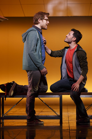 <p>Anthony Rapp and Jason Tam play couple Lucas and David in <em>If/Then</em>. </p><br />Joan Marcus