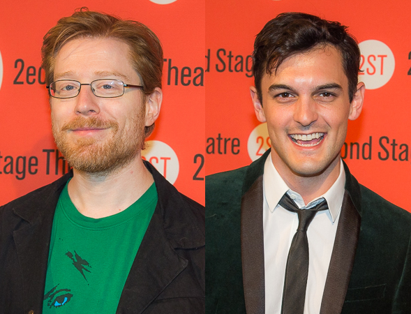 <p>Anthony Rapp and Wesley Taylor also gave performances at the rock-and-roll-themed concert.</p><br />(© Seth Walters)