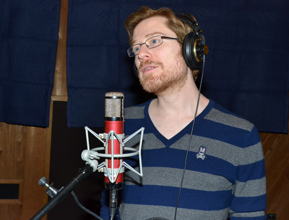 <p>Anthony Rapp feels the power of Tom Kitt and Brian Yorkey&#39&#x3B;s score.</p><br />(© David Gordon)