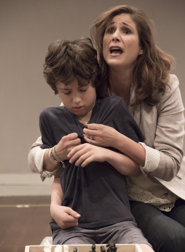 <p>Anthony Rosenthal and Stephanie J. Block play son and mother Jason and Trina.</p><br />(© David Gordon)