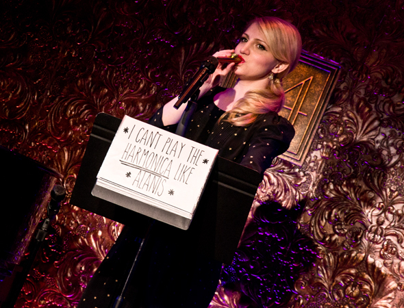 <p>Ashford and her kazoo will take the stage at 54 Below on February 3 for two performances.</p><br />(© David Gordon)