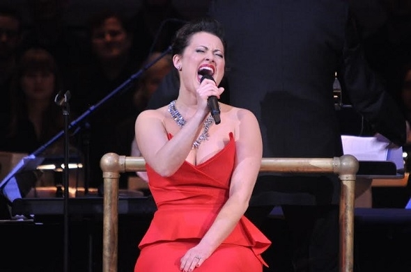 <p>Ashley Brown sings her heart out at Carnegie Hall.</p><br />(© Genevieve Rafter Keddy)