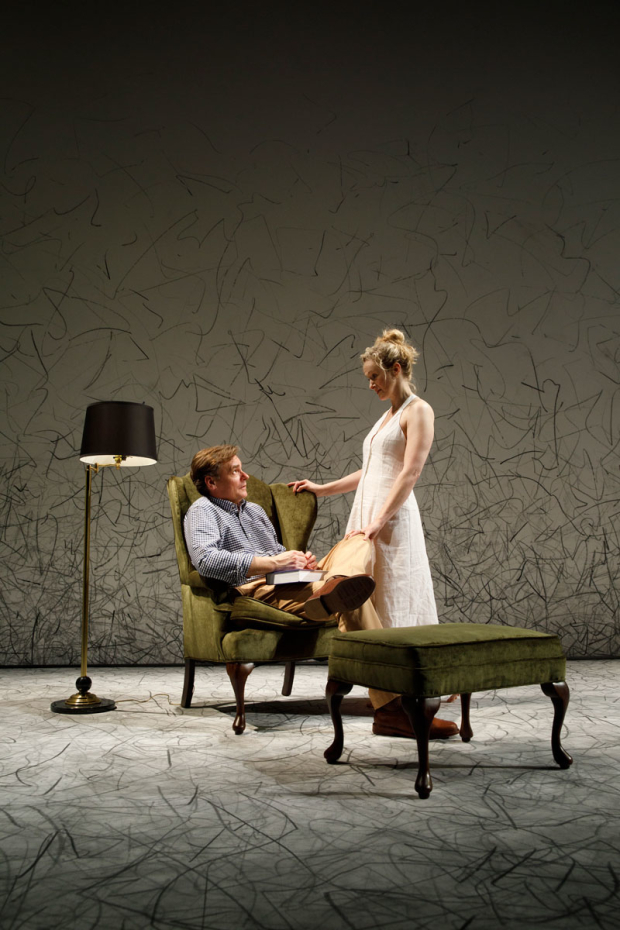 <p><em>At Home at the Zoo</em> opens February 21.</p><br />(© Joan Marcus)