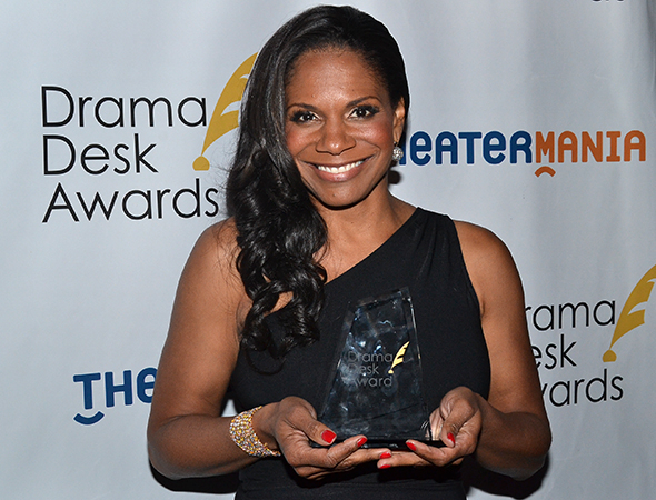 <p>Audra McDonald — Outstanding Actress in a Play winner for <em>Lady Day at Emerson&#39&#x3B;s Bar &amp&#x3B; Grill</em>.</p><br />(© David Gordon)
