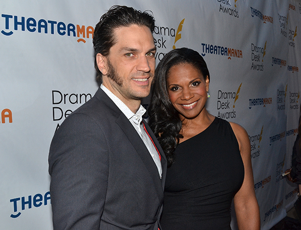<p>Audra McDonald, a nominee for <em>Lady Day at Emerson&#39&#x3B;s Bar &amp&#x3B; Grill</em>, with her husband, Will Swenson.</p><br />(© David Gordon)