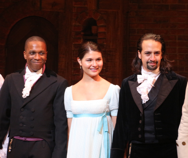 <p>August 6, 2015: <em>Hamilton</em> opens on Broadway.</p><br />(© David Gordon)