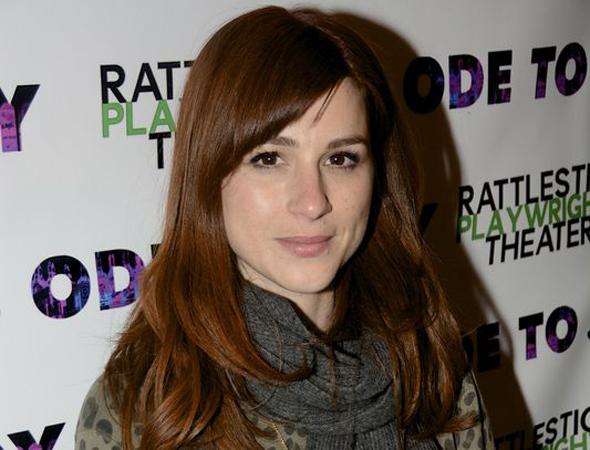 <p>Aya Cash is also a <em>Hilltown Plays</em> alum coming out to take in the newest Rattlestick show.</p><br />(© Nessie Nankivell)