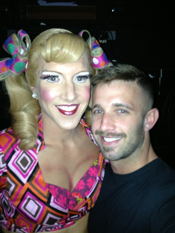 <p>Backstage with two of my favorite drag queens. </p>