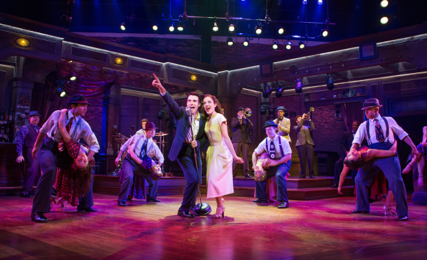 <p><em>Bandstand</em> comes to Broadway after a successful production at the Paper Mill Playhouse in 2015.</p><br />(© Jeremy Daniel)