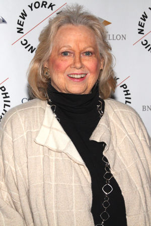<p>Barbara Cook was also on hand for <em>Sweeney Todd</em>.</p><br />(© David Gordon)