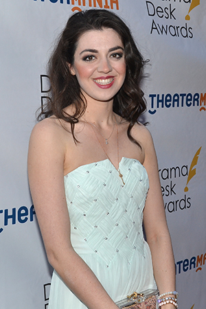 <p>Barrett Wilbert Weed — Outstanding Actress in a Musical nominee for <em>Heathers</em>.</p><br />(© David Gordon)