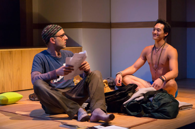 <p>Ben Beckley and Edward Chin-Lyn share a scene.</p><br />(© T. Charles Erickson)