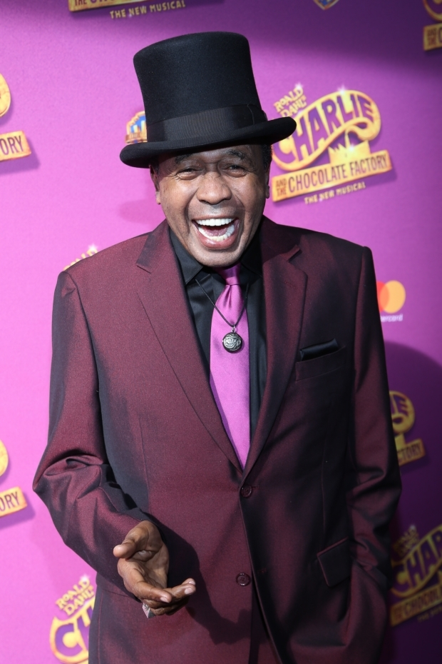 <p>Ben Vereen is so excited to see <em>Charlie and the Chocolate Factory</em>.</p><br />(© Tricia Baron)