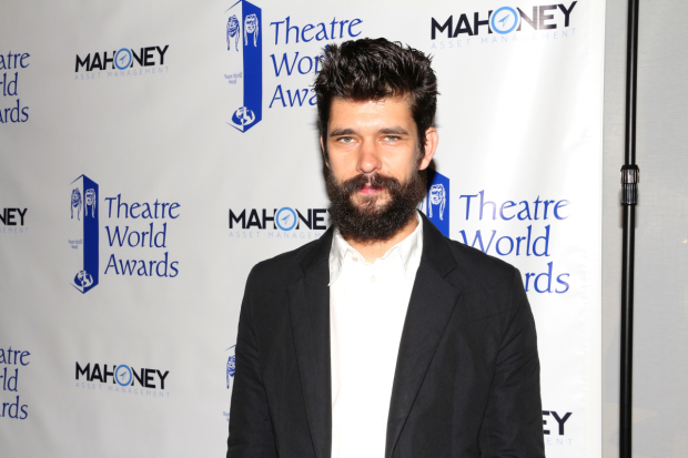<p>Ben Whishaw is an honoree for his Broadway debut in <em>The Crucible</em>.</p><br />(© David Gordon)